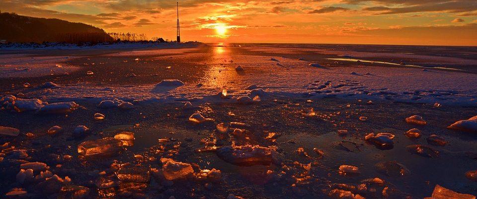 zmrzlý Balaton