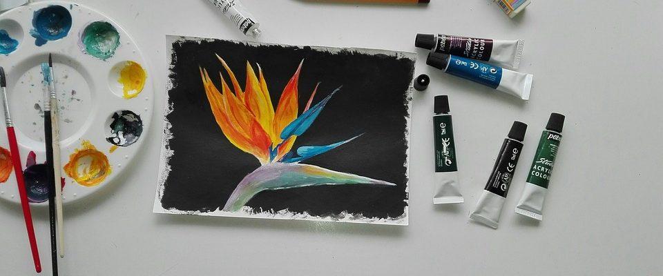 Malba na plátno