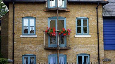 Balkony bez květin