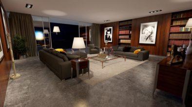 Knihovna ve vašem obýváku