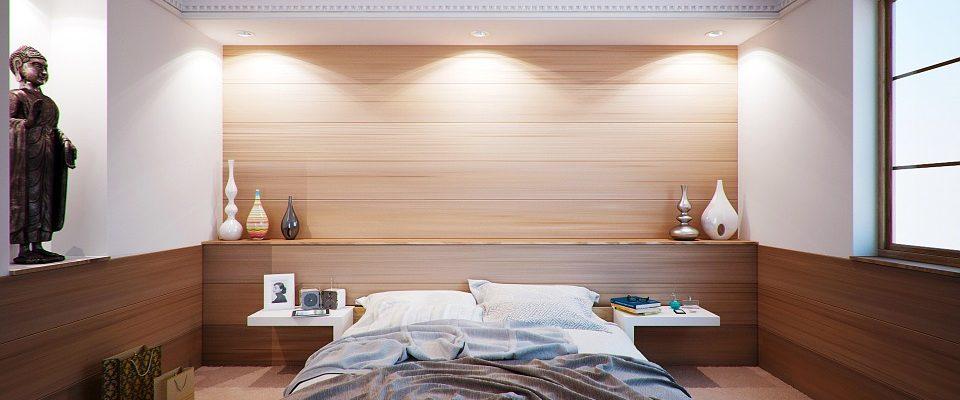moderní ložnici
