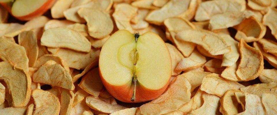 Období sušení ovoce a hřibů je tady